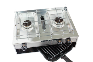 Thetford Spinflo 2 Burner Grill